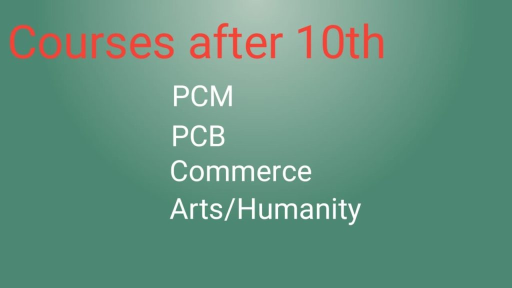 courses after 10th
