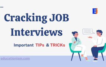 Cracking JOB Interviews